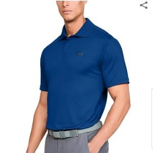 UNDER ARMOUR LOOSE FIT HEATGEAR GOLF POLO SIZE M